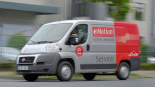 The Linde service van with drive technology from Linde forklifts