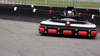 Video on automated Linde e-kart
